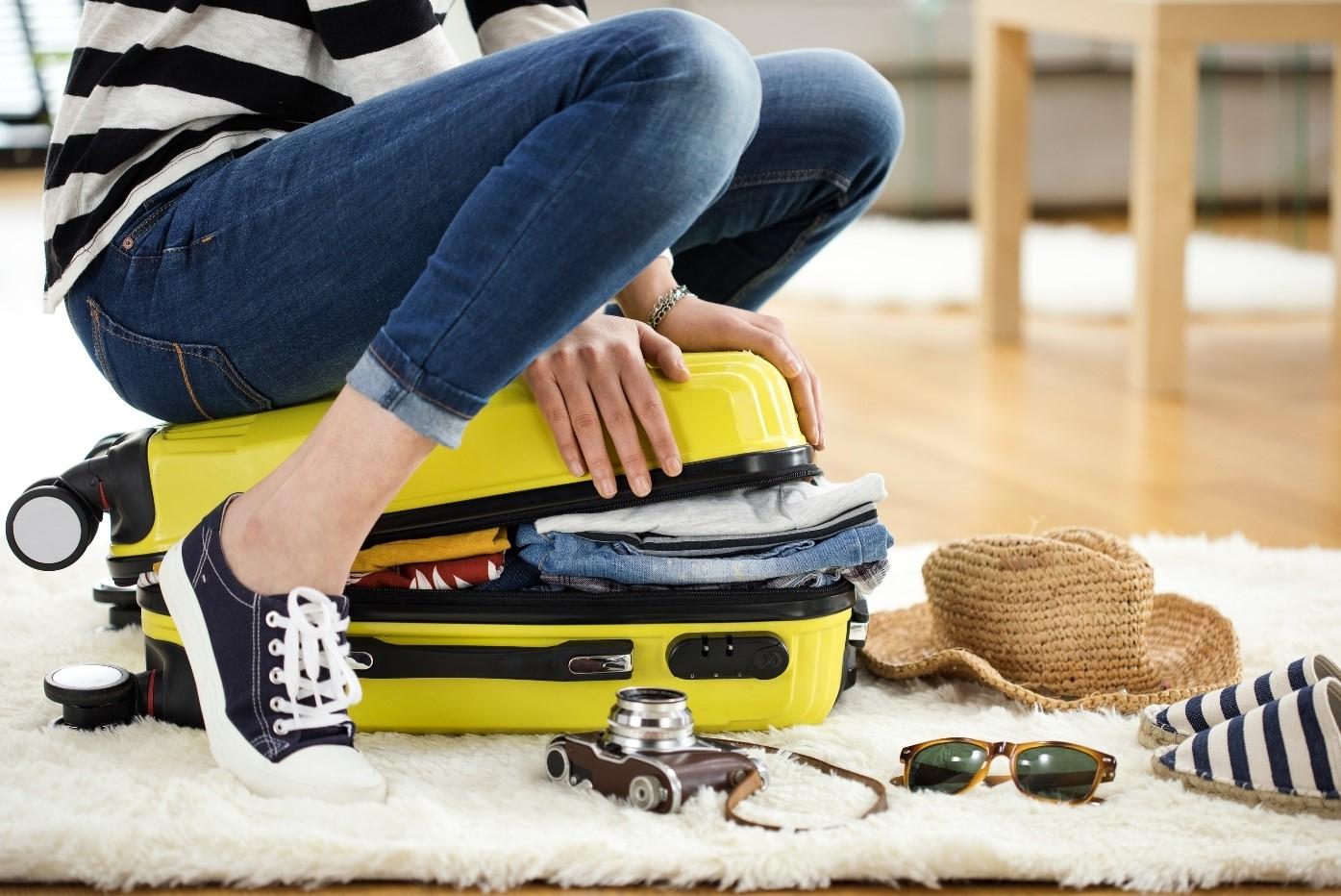 Faire sa valise pour partir en voyage