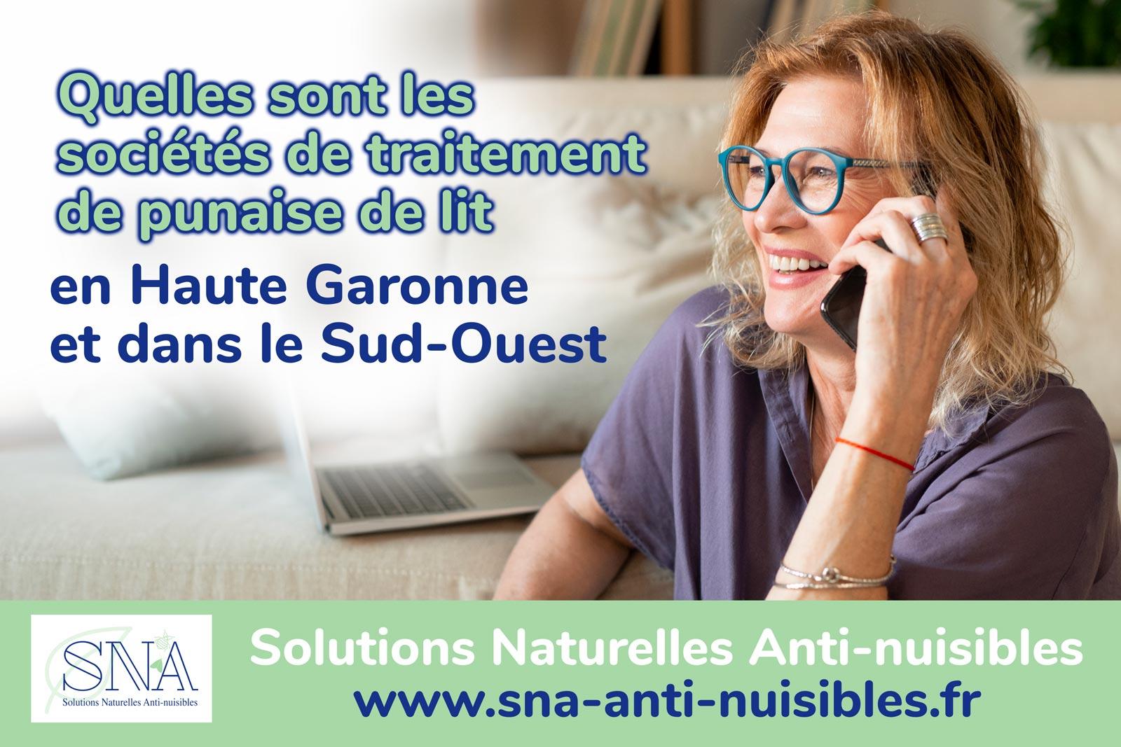 Les sociétés de traitement de punaise de lit à Toulouse
